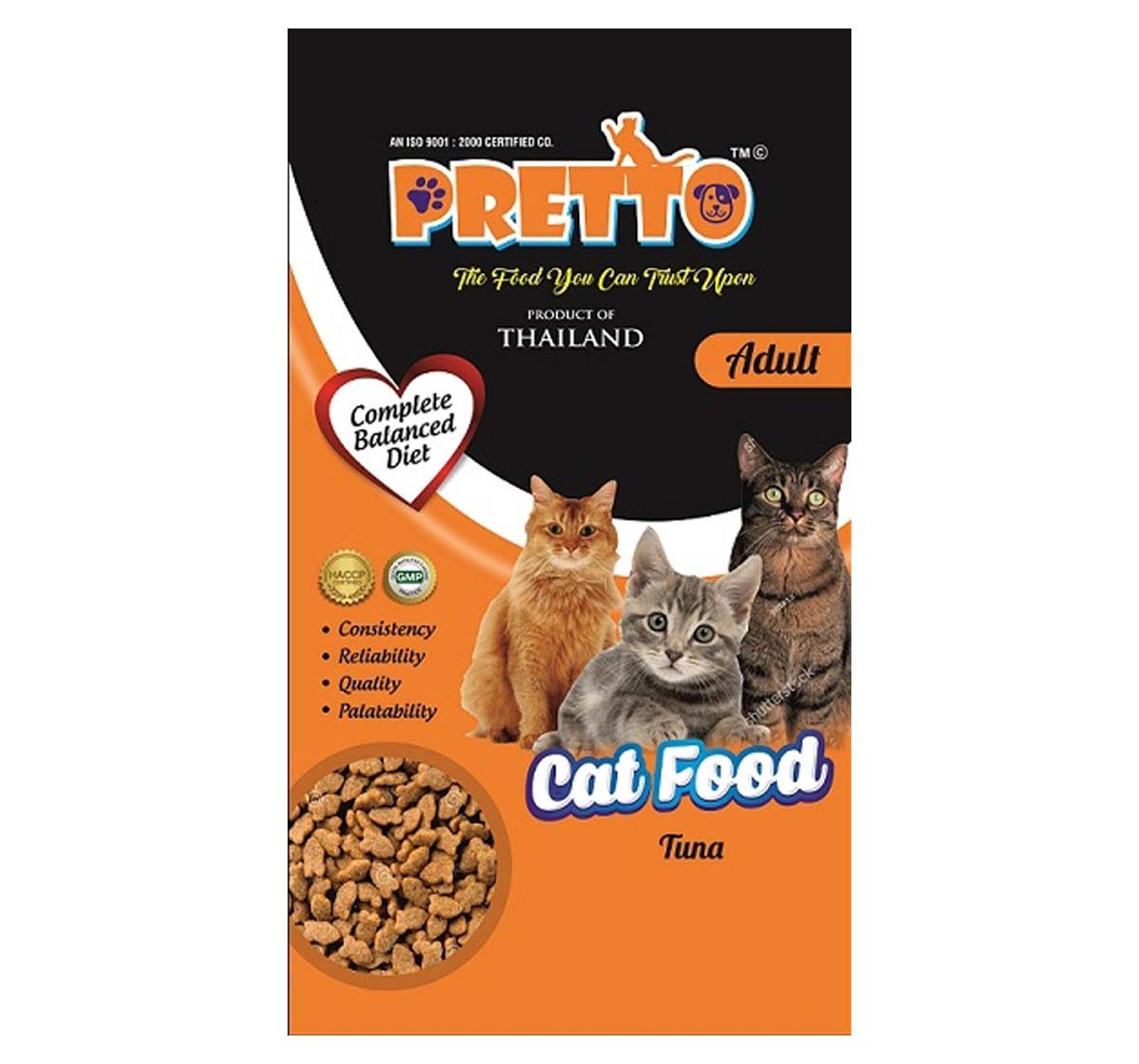 Buy Pretto Cat Adult (Tuna) 3 kg in low price online at Petindiaonline
