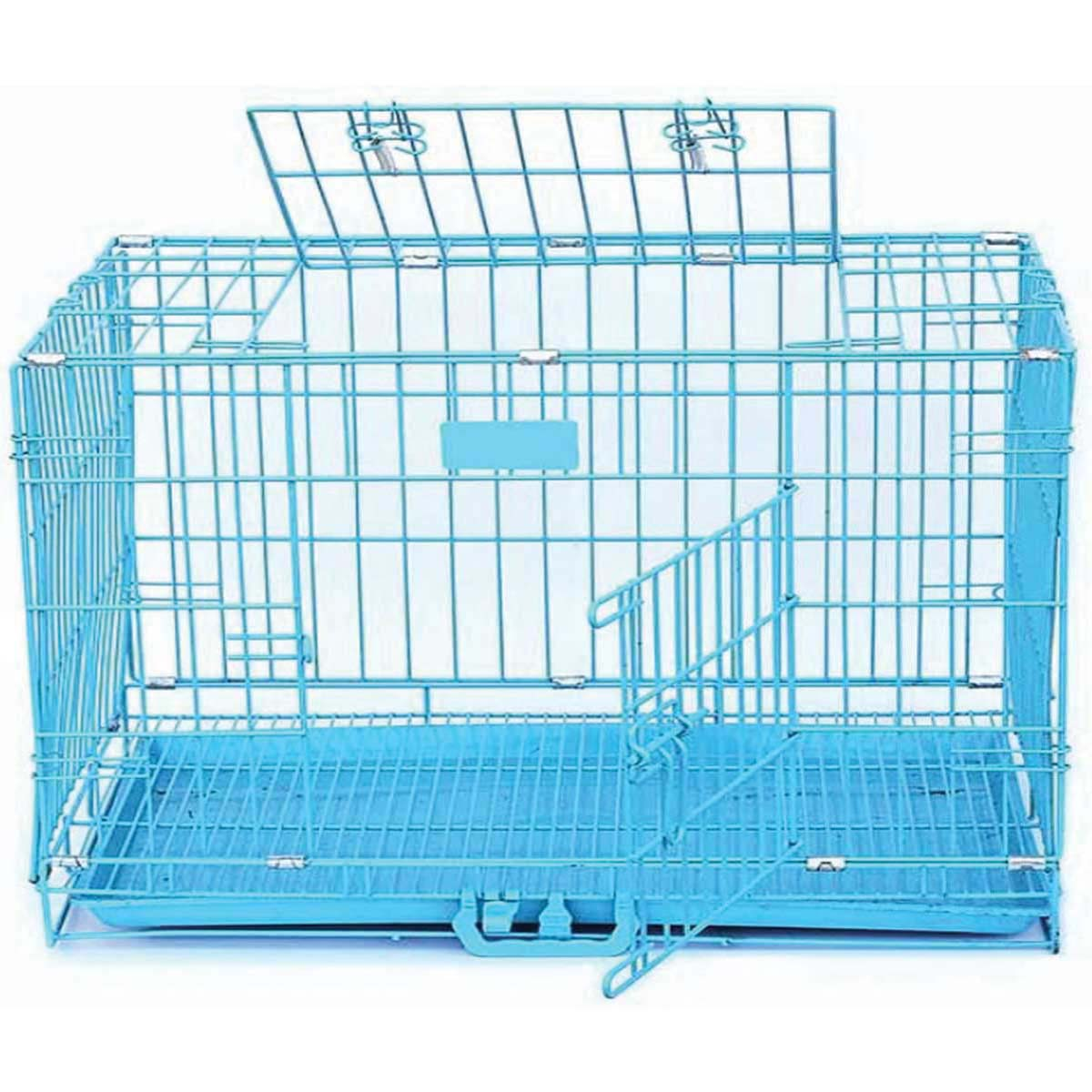 Buy 2.5 Ft Blue Dog Cage,dog cage,cat cage in low price online at Petindiaonline
