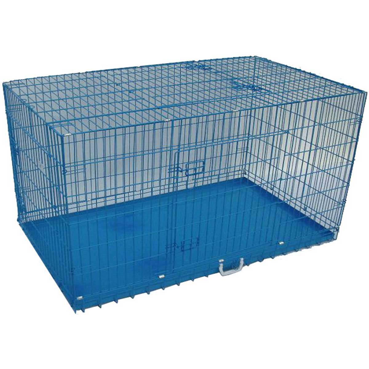 Buy 3.5 Ft Blue Dog Cage,small dog cages,large dog cages,dog cages, in low price online at Pedtindiaonline